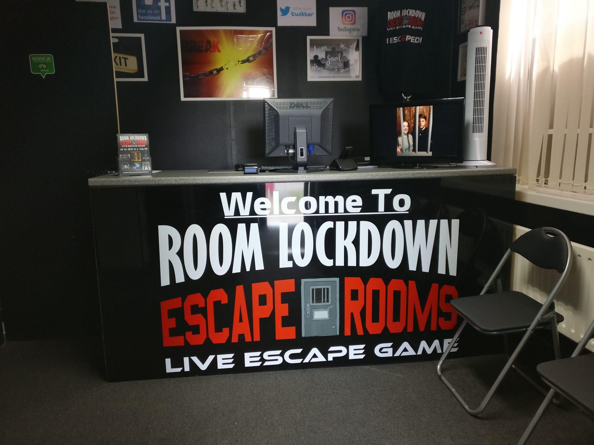 Room Lockdown Alien Abduction Review Escape Goats