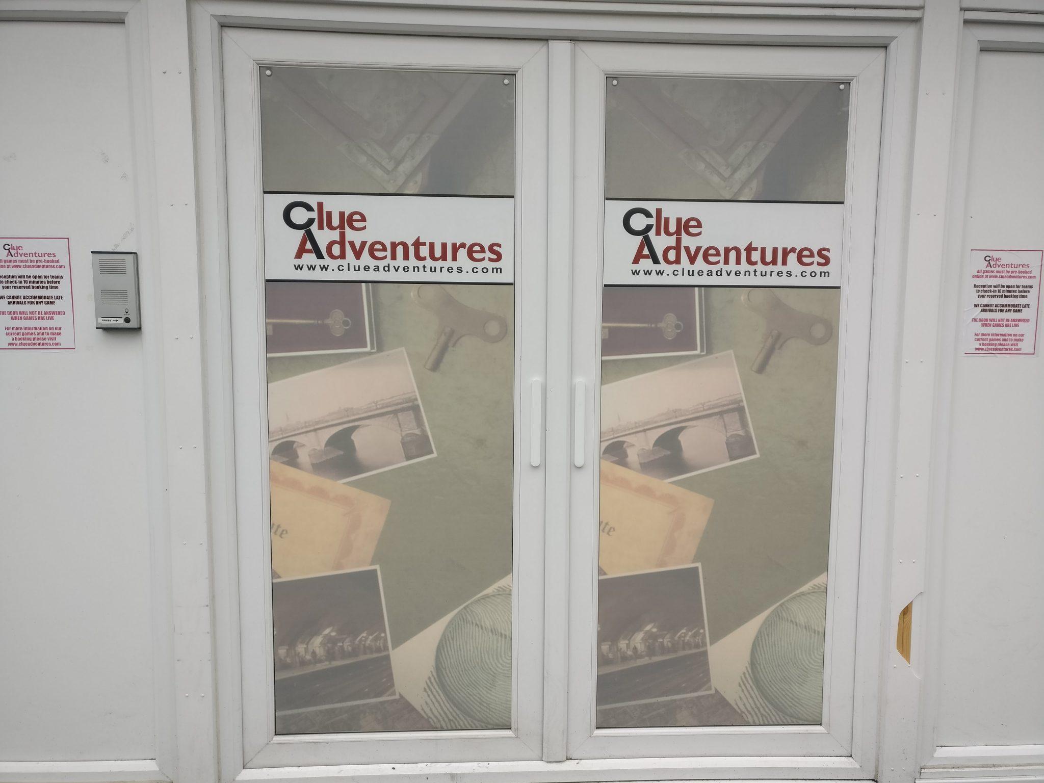 Clue Adventure's frontage
