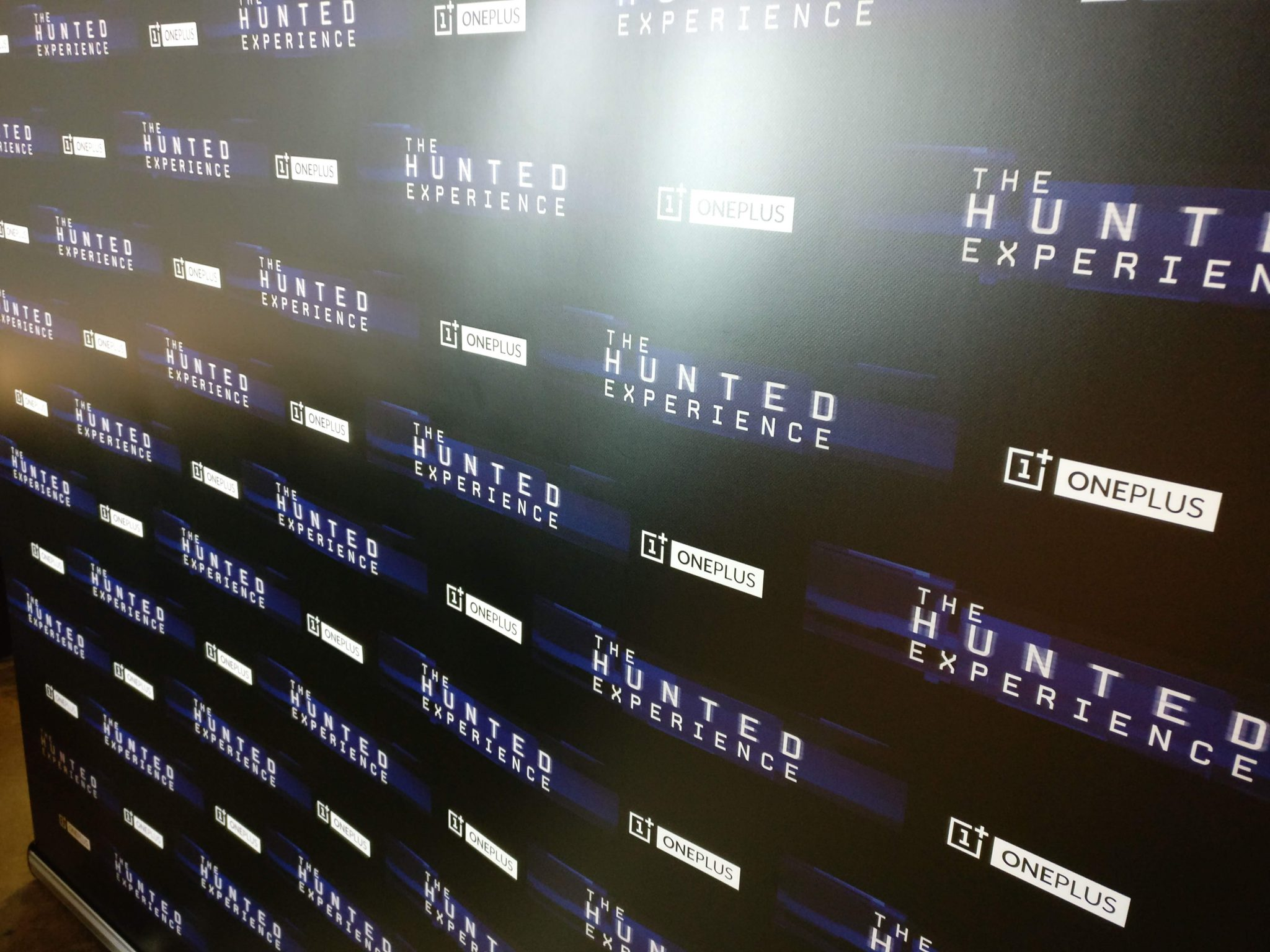 Hunted Experience photo wall