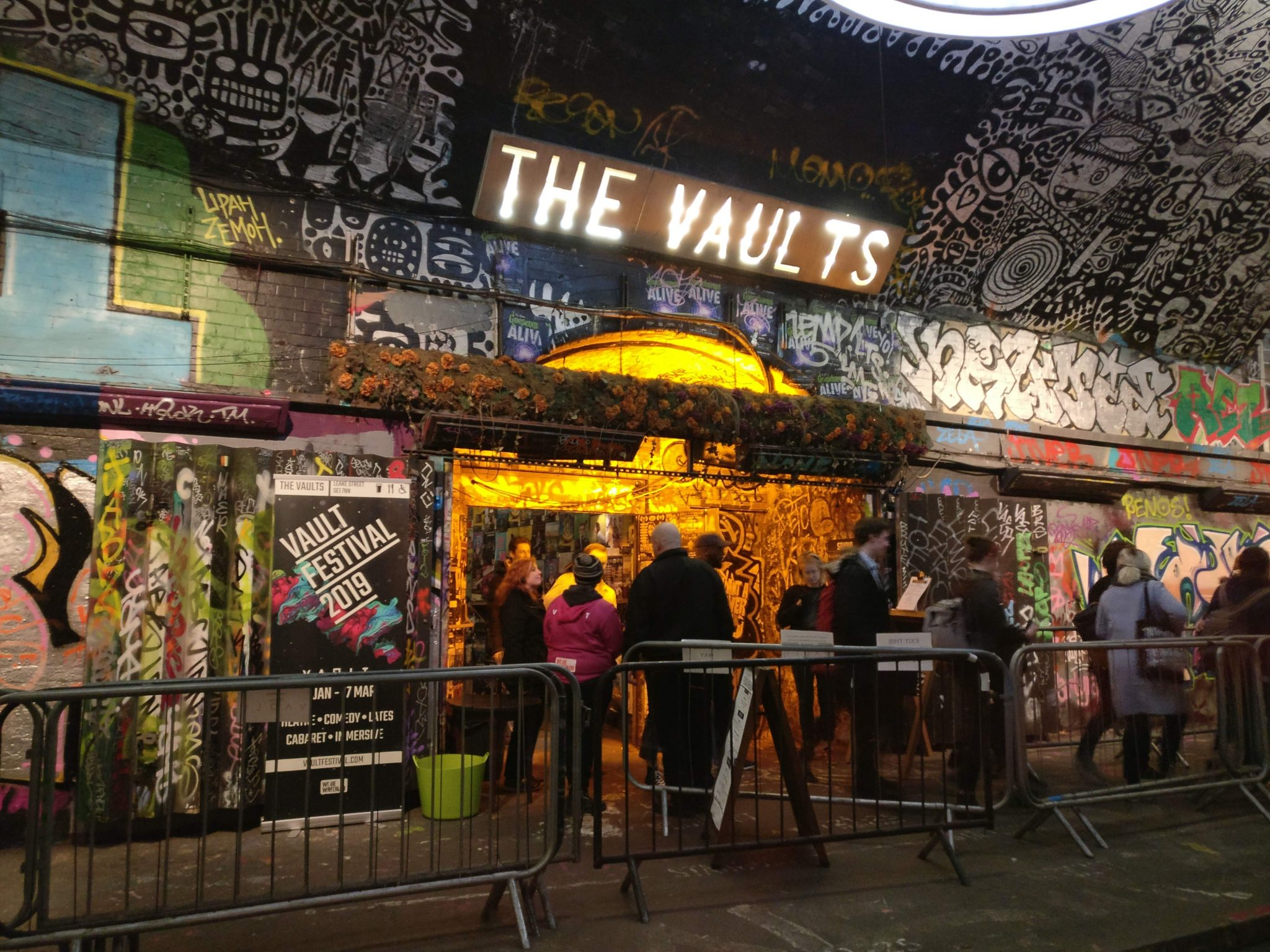 The Vaults entrance