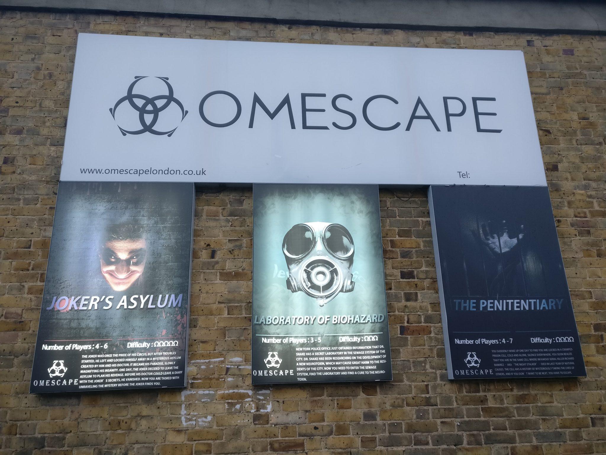Omescape signs