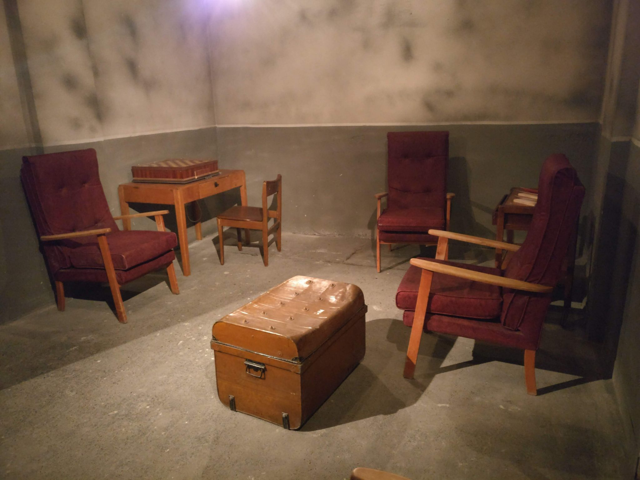 Another of the rooms within Bedlam escape room